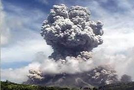 Som en vulkan i udbrud